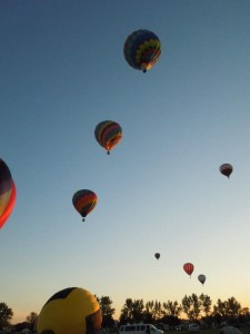 Balloon Festival, Sussex, New Brunswick, Canada